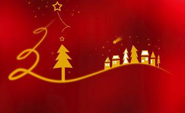 Weihnachtsgruß und Öffnungszeiten in der Weihnachtszeit